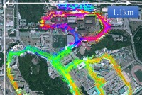 Urban Mapping for Autonomous Car with SLAM